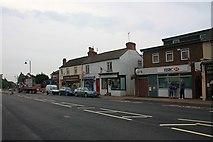 SO7845 : Shops in Barnards Green, Malvern by Bob Embleton