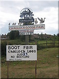 TR0150 : Challock Village Sign by David Anstiss