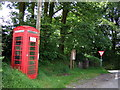 SN1328 : Rural phone box by ceridwen