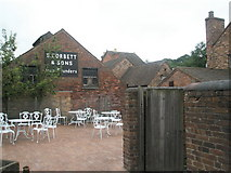 SJ6903 : Empty chairs within Blists Hill Open Air Museum by Basher Eyre