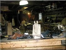 SJ6903 : Inside a workshop at Blists Hill Open Air Museum (1) by Basher Eyre