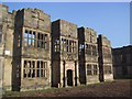 NZ1758 : Gibside Hall: the main front by Keith Salvesen