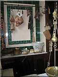 SJ6903 : Inside the butchers at Blists Hill Open Air Museum (2) by Basher Eyre