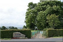 T0854 : Entrance to Toome Graveyard by Simon Mortimer