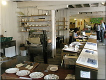 SJ6902 : Pottery skills demonstrated at the Coalport Museums (1) by Basher Eyre