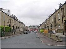 SE0826 : Grange Street - East Park Road by Betty Longbottom