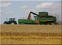 TA0114 : Harvesting near Worlaby by David Wright