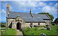 SM9339 : St. Gwyndaf's church Llanwnda by RAY JONES