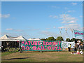 TQ3876 : Blackheath Climate Camp - 3 by Stephen Craven