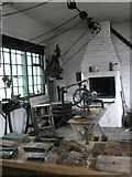 SJ6903 : Inside a workshop at Blists Hill Open Air Museum (5) by Basher Eyre