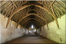 ST8260 : Interior, Tithe Barn by Mark Anderson