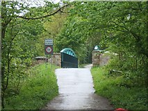 SK1751 : Bridge above Fenny Bentley by Helene Roe