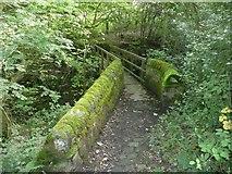SE0722 : Footbridge over Maple Dean Clough, Norland by Humphrey Bolton