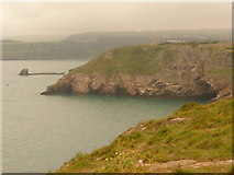 SX9456 : Berry Head: view to the southwest by Chris Downer