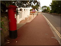 SX9163 : Torquay: postbox № TQ2 1, Belgrave Road by Chris Downer