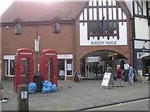 SP2055 : Bard's Walk, Stratford on Avon by Kenneth  Allen