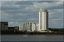 TQ4179 : Flats at Silvertown, London by Peter Trimming