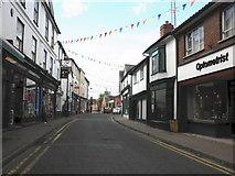 SO2956 : High Street, Kington by Roger Cornfoot