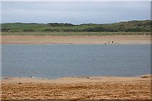 SW9276 : River Camel at low water by Andy F