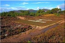 NH9506 : Helicopter Landing Area, Rothiemurchus Lodge by Mick Garratt