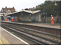 TQ4178 : Maintaining the CCTV at Charlton station by Stephen Craven