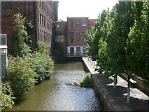 SJ8297 : Cornbrook, canal basin by Mike Faherty
