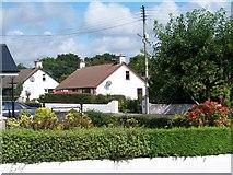 J3630 : Bungalows on the Tullybrannigan Road by Eric Jones