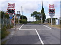 TM3976 : Mells Level Crossing by Adrian Cable