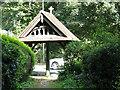 TQ2953 : St Katharine's church Merstham: lych gate by Stephen Craven