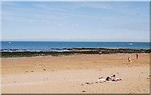TR4068 : Beach & Wave Cut platform in Stone Bay by N Chadwick