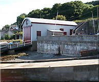 J3829 : The former lifeboat station at Newcastle by Eric Jones