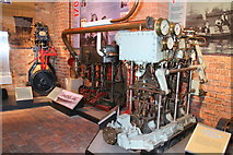 SO8218 : Marine steam engine display, National Waterways Museum by Chris Allen