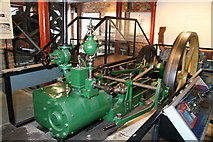 SO8218 : Steam engine, National Waterways Museum by Chris Allen