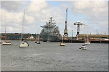SW8132 : Falmouth docks by roger geach