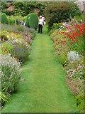 SO4465 : Croft Castle walled garden in August by Marion Haworth