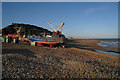 TQ8209 : Fishing Boats on Hastings Beach by Oast House Archive