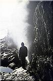 SM7108 : Blowhole near The Basin, Skomer by John Rostron