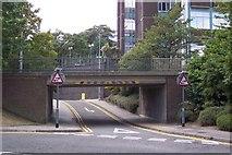 TQ7567 : Best Street Road bridge, over Rhode Street by David Anstiss