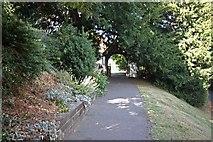 TR3051 : St Andrew, Tilmanstone, Kent - Lych gate by John Salmon