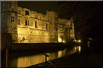 SK7954 : Newark Castle at Night by Kenny Howse