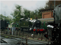 TQ4023 : GWR 5199 at Sheffield Park Railway station by Ashley Dace