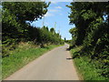 SO7060 : Lower Sapey Lane by Peter Whatley