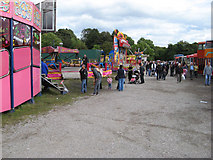 SD8203 : Fairground and vehicle rally by Jonathan Wilkins