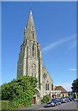 SZ5881 : St Saviour on the Cliff, Queen's Road, Shanklin by Christine Matthews