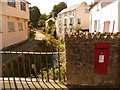 SY3492 : Lyme Regis: postbox № DT7 32, Coombe Street by Chris Downer