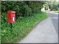 SY3799 : Marshwood: postbox № DT6 28 by Chris Downer