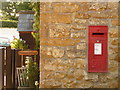 SY4396 : Broadoak: postbox № DT6 19 by Chris Downer
