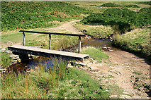 SK1695 : Footbridge and Ford by David Lally