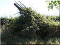 TL0676 : Wayside farm machinery by Michael Trolove
