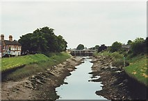TF3244 : River Witham, Boston, Lincolnshire by nick macneill